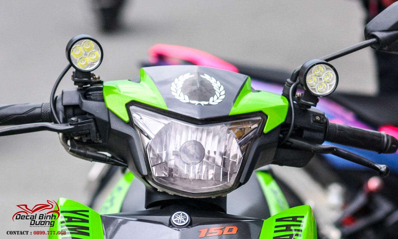 Đèn led l4 chính hãng cho xe máy