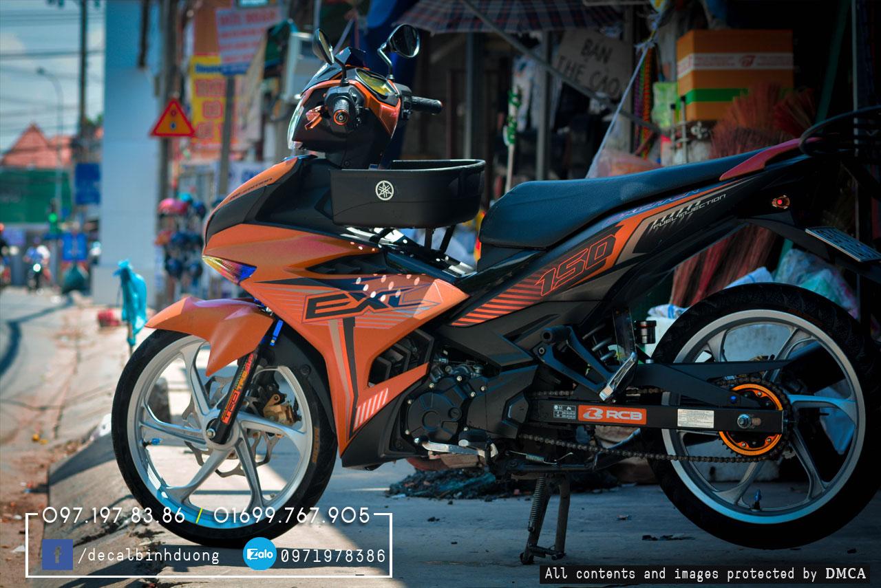 Sơn xe Honda SH 150i màu cam đen nhám... - Trung Tâm Sơn ...